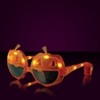 Light Up Orange Pumpkin Sunglasses - Stock light up pumpkin sunglasses. Blank.