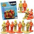 Firefighter Toy Figures - Firefighter Toy Figures, 12 per pack. Blank.