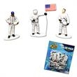 Astronaut Toy Figures - Astronaut Toy Figures, 12 per pack. Blank.