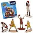 Basketball Toy Figures - Basketball Toy Figures, 12 per pack. Blank.