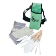 Garden Tool Set with Apron - Garden tool set with apron and one pair of work gloves.