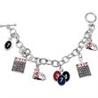 Rhea Nicole Bingo Charm Bracelet - Bingo charm bracelet.