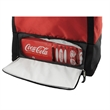 Paris Oversized Durable Beach Tote Bag - Oversized durable beach tote bag w/ 12 can cooler zippered leak-proof compartment.