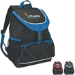 PEVA Lined Backpack Cooler - PEVA lined backpack cooler with carry handle.