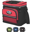 12 Can Cooler - 12-can cooler with zippered main compartment.