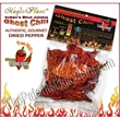 Dried Ghost Chili Pepper 1/2oz bag or jar  - Dried Ghost Chili Pods Organic, Autentic & Gorment Indian Bhut Jolokia Pepper