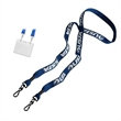 "Trade Show 1"" Double Ended Polyester Lanyard"