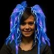 Blue Diva LED Light Up Dreads (TM) Costume Headband