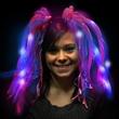 Blue and Pink Diva Dreads (TM) LED Light Up Costume Headband