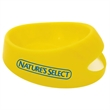 "Small Pet Food Scoop Bowl - 7 1/2"" x 6 3/8"" x 2 1/2"" bowl with 10 ounce capacity that's made in the USA."