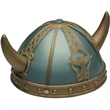 Child's Viking Helmet (Plastic) - Child's Plastic Viking Helmet. Packed 2 dozen. Must order in carton packs. Blank.