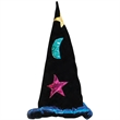 Velvet Wizard Hat - Velvet Wizard Hat. Packed 1 dozen. Must be ordered in carton packs. Blank.