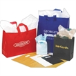Color opaque bag - Reusable color opaque shopping bag with soft loop handles & cardboard bottom inserts