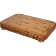 "Little Kahuna - Cutting board with feet. 18"" x 12"" x 2 1/4""."