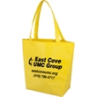 """Convention Tote - Non-woven tote bag with large capacity compartment, 5"""" gusset and 22.5"""" long straps."""
