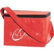 Explorer 6 Pack Cooler - Cooler with insulated interior compartment, 2mm open cell foam and front pocket.
