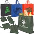 Eco-Green Re-Usable Shopper - 80GSM - Green reusable shopper bag, non woven polypropylene.