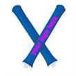 Inflatable Thunder stick, noisemakers - Thunder stick, polyethylene tube noisemakers. Bullethead.