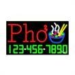 Neon Sign with Phone # - Pho - Neon Sign with Phone # - Pho.