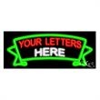 Neon Sign with Custom Lettering - Banner - Neon sign with custom lettering - Banner.