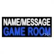 Neon Sign with Custom Lettering - Game Room - Neon sign with custom lettering - Game Room.