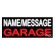 Neon Sign with Custom Lettering - Garage - Neon sign with custom lettering - Garage.
