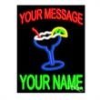 Neon Sign with Custom Lettering - Margarita - Neon sign with custom lettering - Margarita.