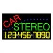 LED Sign with Phone # - Car Stereo - LED Sign with Phone # - Car Stereo.