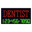 LED Sign with Phone # - Dentist - LED Sign with Phone # - Dentist.