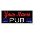 LED Sign with Custom Lettering - Pub - LED Sign with Custom Lettering - Pub.