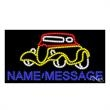 LED Sign with Custom Lettering - Classic Car - LED Sign with Custom Lettering - Classic Car.