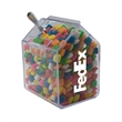 Candy Bin Dispenser with Chicle Chewing Gum - Candy bin house shaped dispenser with chicle chewing gum.
