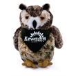 "8"" Osmond Owl with bandana and one color imprint"