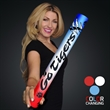 """Fully Wrapped 16"""" Red/White/Blue LED Foam Cheer Stick - Custom fully wrapped wrapped 16"""" red/white/blue LED foam cheer stick. 20 Days & 60 Days Pricing"""
