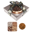 The Beverly Hills Gift Tower - Nuts and Chocolate Almonds - The Beverly Hills gift box tower with Grade A nuts and chocolate almonds.