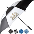 "The Canopy Golf Umbrella - Golf umbrella features molded rubber handle with comfortable grip, 60""."