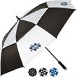 "The Ventor Auto Open Golf Umbrella - Auto open golf umbrella with UV protection SPF + 50, foam handle, 60"" arc."