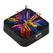 MAGNETIC BASE W/ COLORFUL PAPER CLIPS