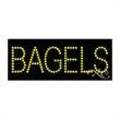 Economy LED Sign - Bagels - Economy LED Sign - Bagels.