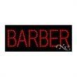 Economy LED Sign - Barber - Economy LED Sign - Barber.