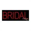 Economy LED Sign - Bridal - Economy LED Sign - Bridal.