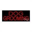 Economy LED Sign - Dog Grooming - Economy LED Sign - Dog Grooming.