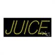 Economy LED Sign - Juice - Economy LED Sign - Juice.