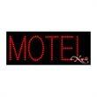 Economy LED Sign - Motel - Economy LED Sign - Motel.