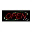 Economy LED Sign - Open - Economy LED Sign - Open.