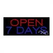 Economy LED Sign - Open 7 Days - Economy LED Sign - Open 7 Days.