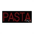 Economy LED Sign - Pasta - Economy LED Sign - Pasta.