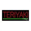 Economy LED Sign - Teriyaki - Economy LED Sign - Teriyaki.