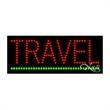 Economy LED Sign - Travel - Economy LED Sign - Travel.