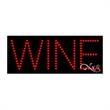 Economy LED Sign - Wine - Economy LED Sign - Wine.